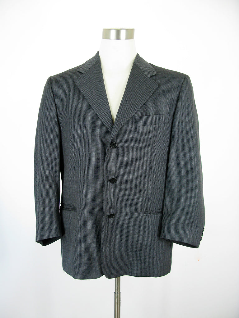 Luciano Carelli Italian 3 Button Sports Coat 42R