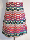 See by Chloe Metallic Multi Color Skirt 4 - ruby & sofia