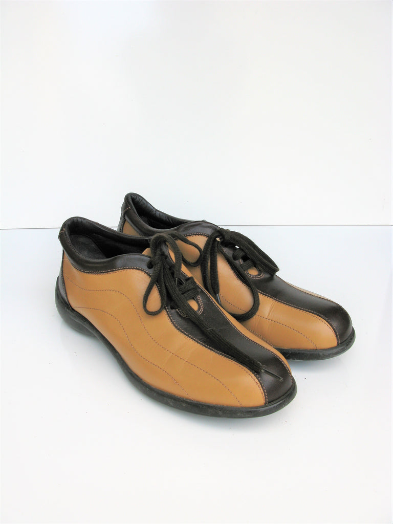 Jaime Mascaro Lace-up Leather Bowling Shoes Oxfords 36 / 6