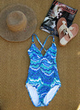 Stunning Trina Turk One-Piece Swimsuit 4 - ruby & sofia
