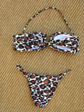 "Angela Martini "" I am fire, touch me"" Bikini S NWT - ruby & sofia"