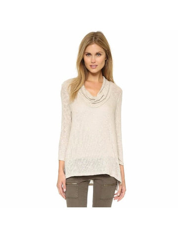 Soft Joie Estee Sweater - Slouchy Cowl Neck Sweater XS