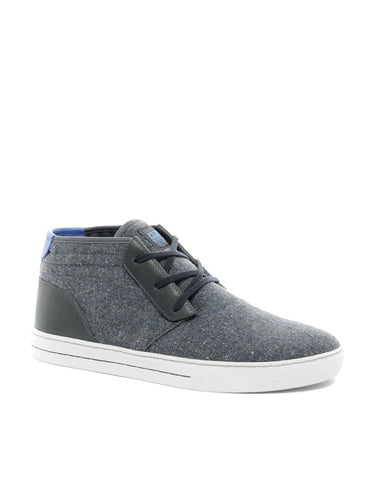 Clae McQueen Leather & Textile Mid Top 9.5 NWOB