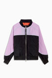 Daniel Patrick Purple Haze Colorblock Bomber Jacket XL
