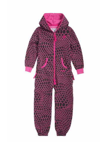OnePiece Norwegian Norway Hectagon Kids Jumpsuit Raspberry 4/5 110 NWT
