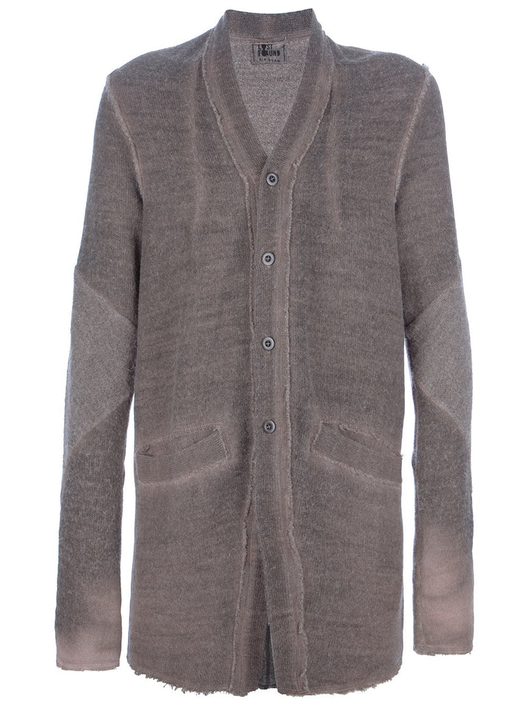 Lost & Found Ria Dunn Brown Mid Length Cardigan XS/S - ruby & sofia