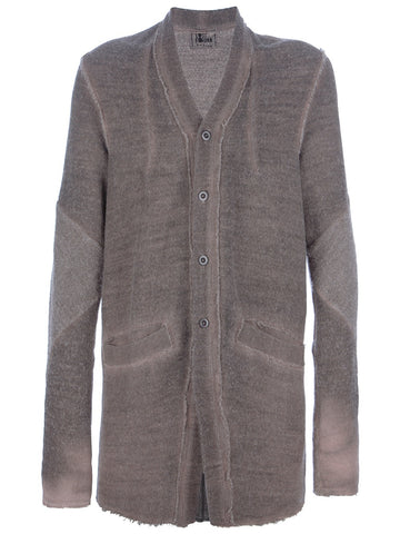 Lost & Found Ria Dunn Brown Mid Length Cardigan XS/S
