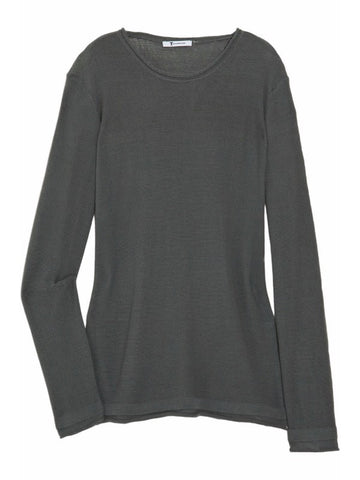 T by Alexander Wang Rolled Neck Cotton Chain Knit Sweater S