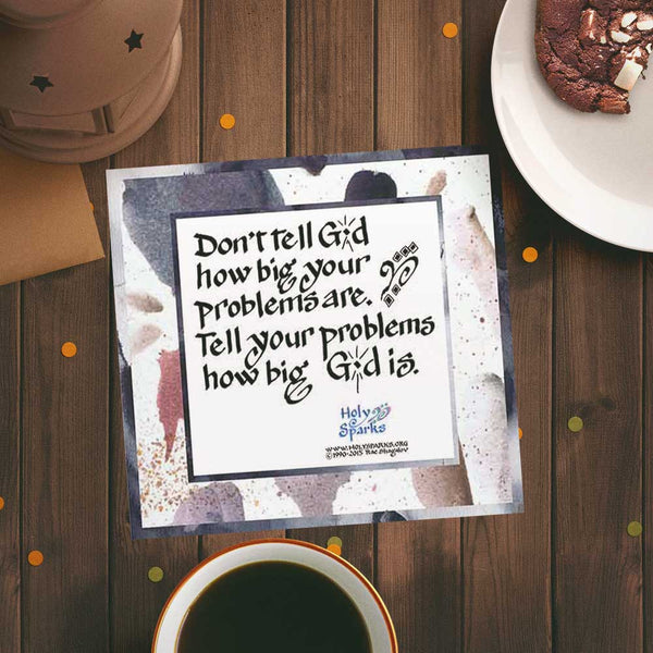 Great Inspirational Quotes About Life Problems - Digital Print & Card