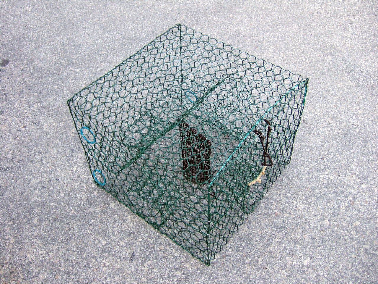 Blue crab trap galvanized or vinyl coated wire trap for Blue crab fishing