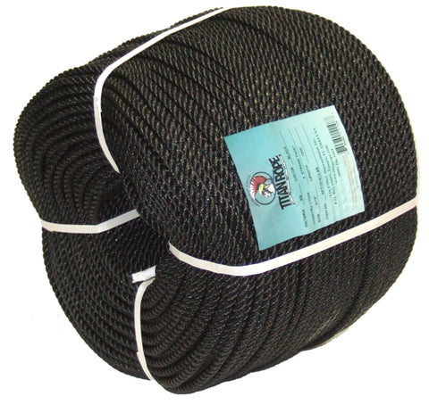 Twisted Polyethylene Rope in Coil