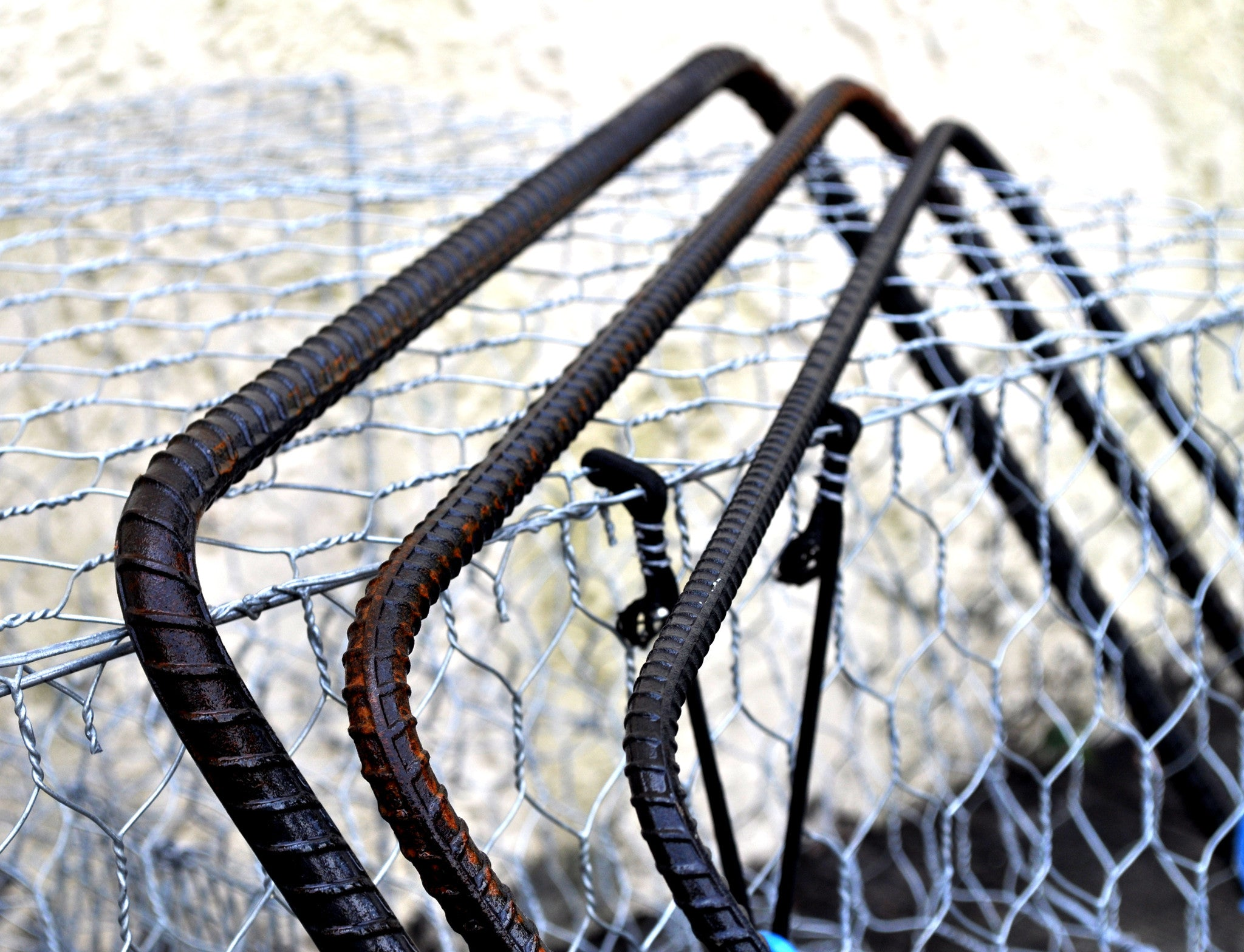 Square Rebar - Crab Traps Accessories – Lee Fisher Fishing Supply