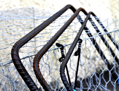 Crab Traps Accessories - Square Rebar