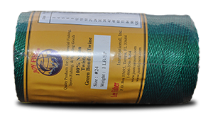 Nylon Twisted Twine – Green & Bonded