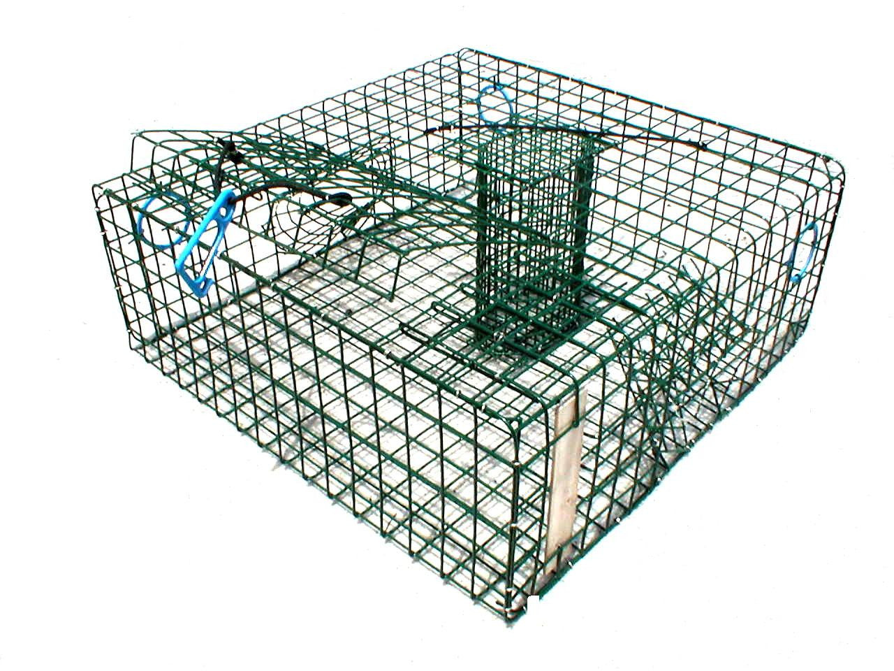 Wire Stone Crab Trap - Vinyl Coated - American Made – Lee Fisher Fishing Supply