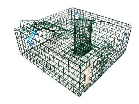 Wire Stone Crab Trap - Vinyl Coated - American Made
