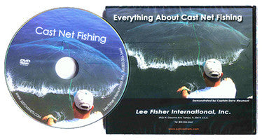Everything About Cast Net Fishing DVD