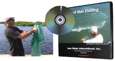 Cast Net Fishing Instructional DVD