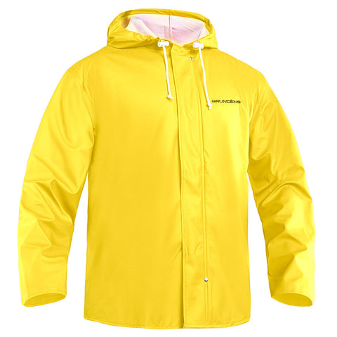 Hooded Jacket ( Light Weight ) by Grunden – Petrus 82 Parkas - Yellow