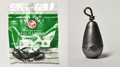Sinkers- Bass Casting