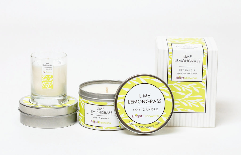Lime Lemongrass Gift Set