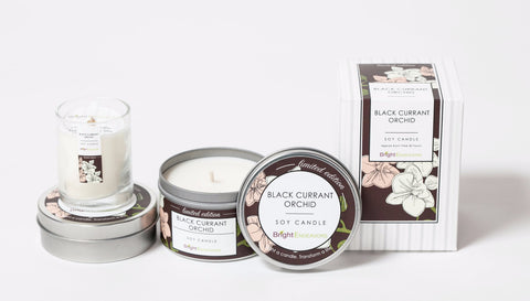 Black Currant Orchid Gift Set