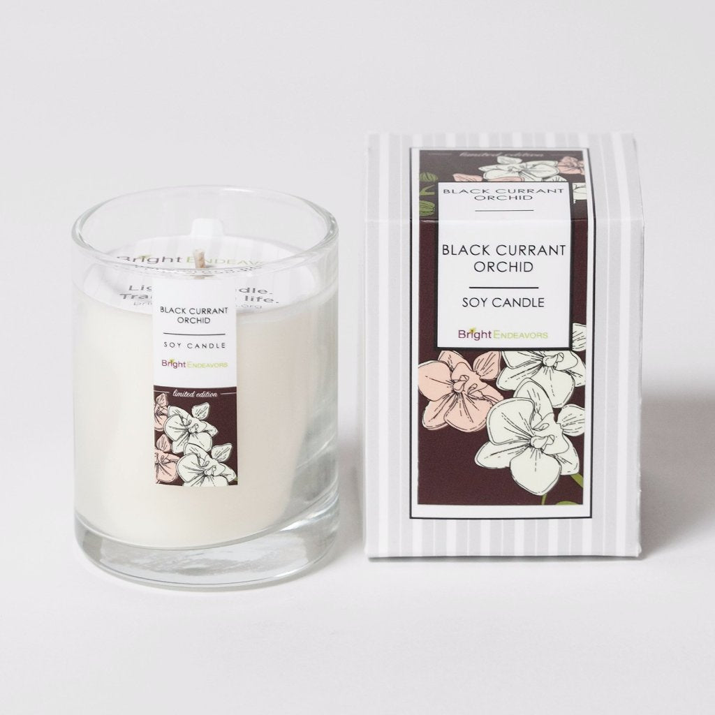 New! Mini Signature Glass Soy Candle