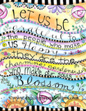 Let us be Grateful - Art Print