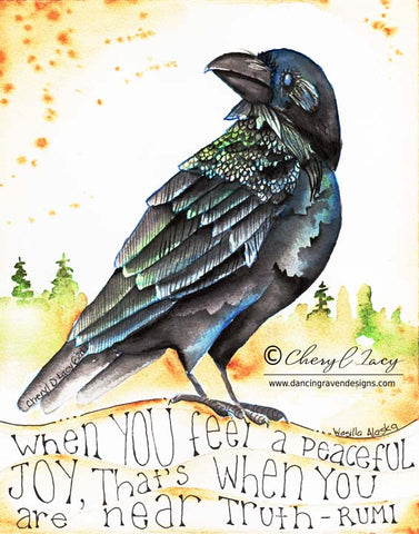 Peaceful Joy - Art Print