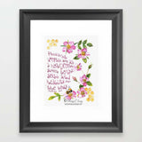 Plesant Words - Art Print