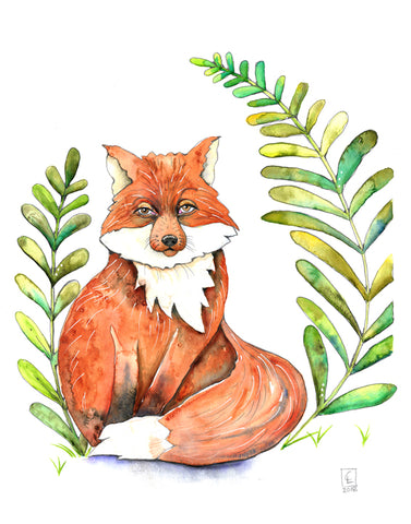 Garden Fox - Art Original