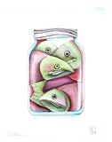 Canned Fish - Art Print