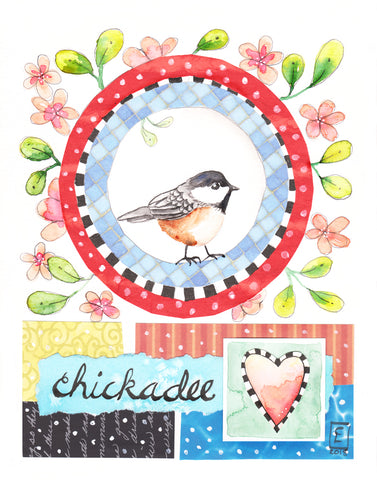Chickadee - Art Original