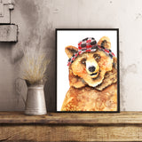 Bob the Bear - Art Print