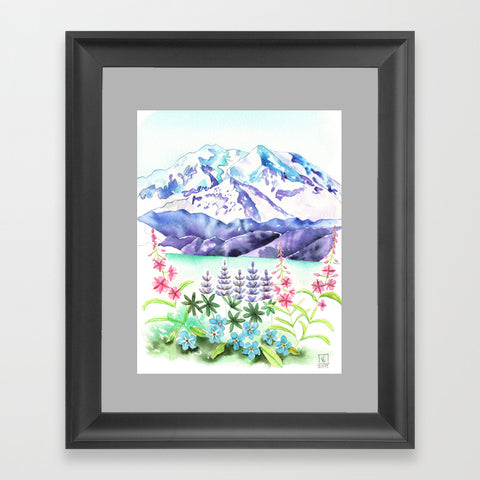 Denali Wildflowers - Art Print