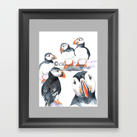 Morning Gathering - Art Print
