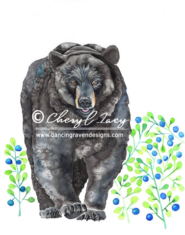 Black Bear - Art Original