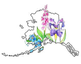 Alaska Wildflowers - Art Print