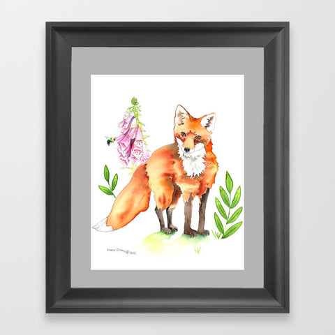 Fox Glove - Art Original
