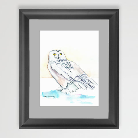 Snowy Owl - Art Original