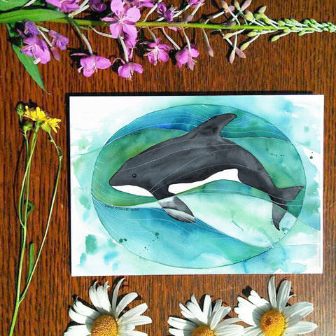 Orca - Greeting Card