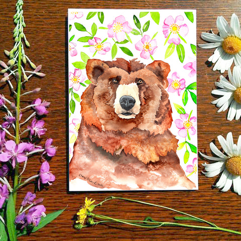 Rosy - Greeting Card