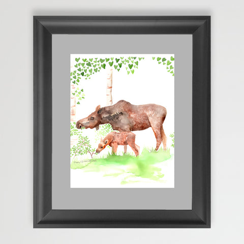 Mama and Baby - Art Original