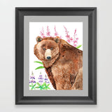 Fireweed Bear - Art Original