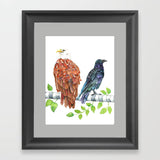 Love Birds - Art Print