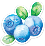 Sticker - Blueberry