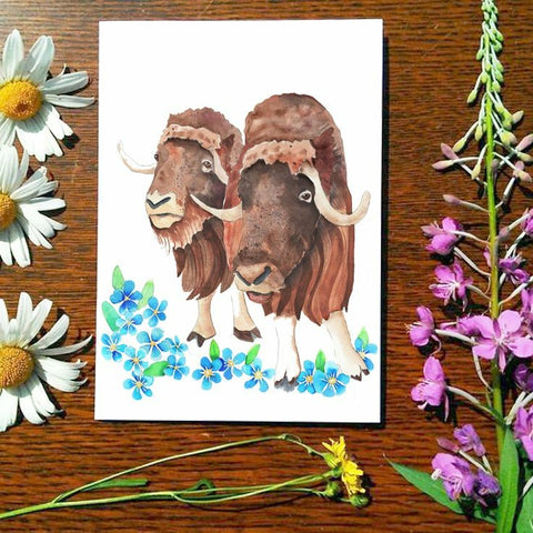 Greeting Card - Musk Sisters