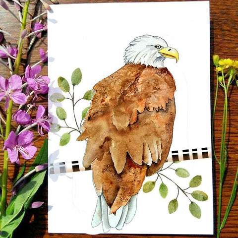 Greeting Card - Eagle