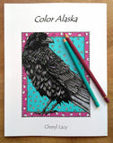 Color Book. Color Alaska