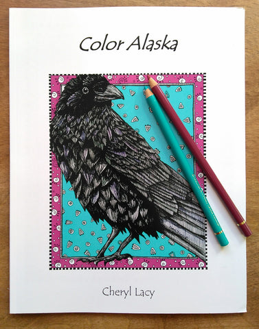 Color Book. Color Alaska – Dancing Raven Designs